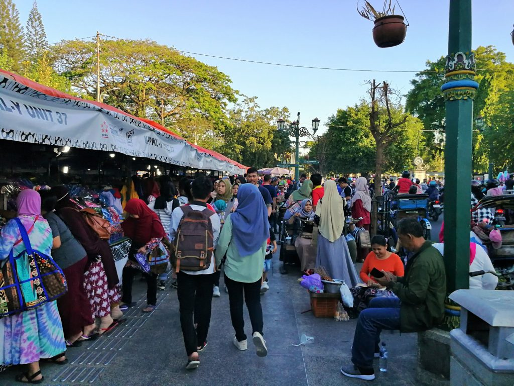 Calle Malioboro Yogyakarta