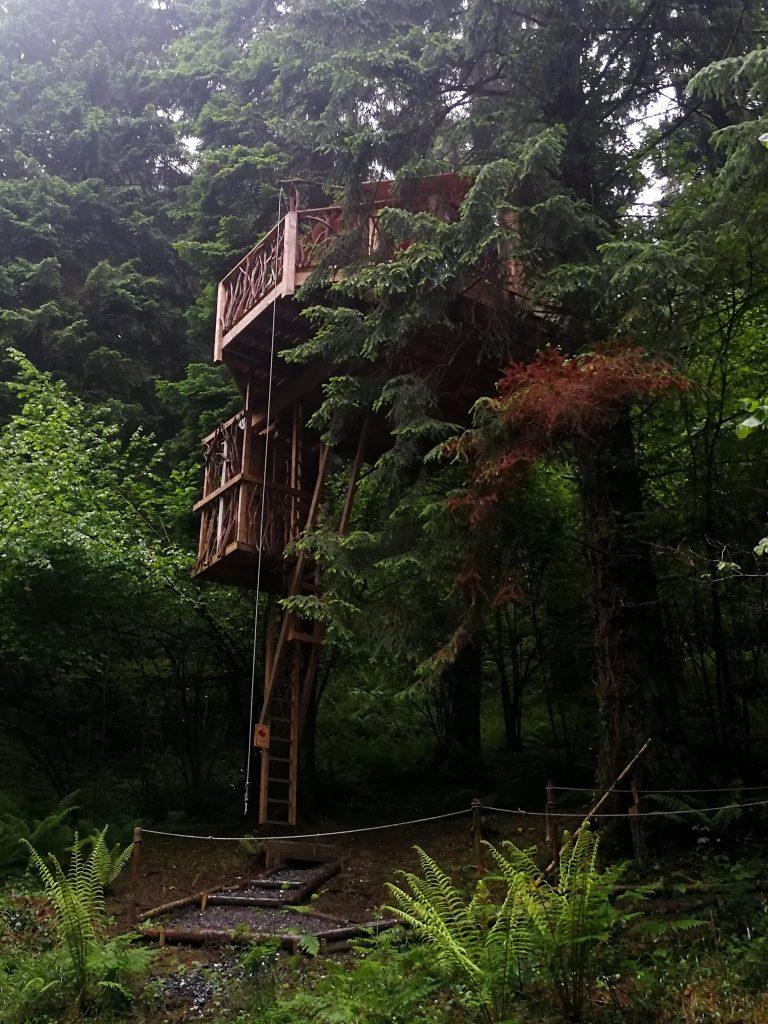Alojarte en una cabaña en un árbol - Haz La Mochila