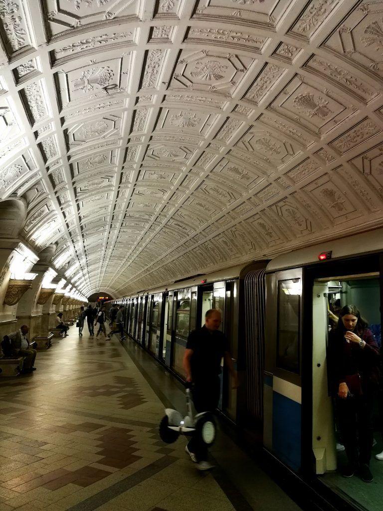 Metro de Moscú - Haz La Mochila