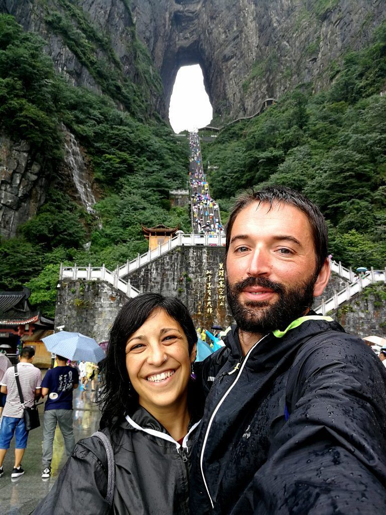 Puerta del Cielo - Tianmen Mountain - Haz La Mochila
