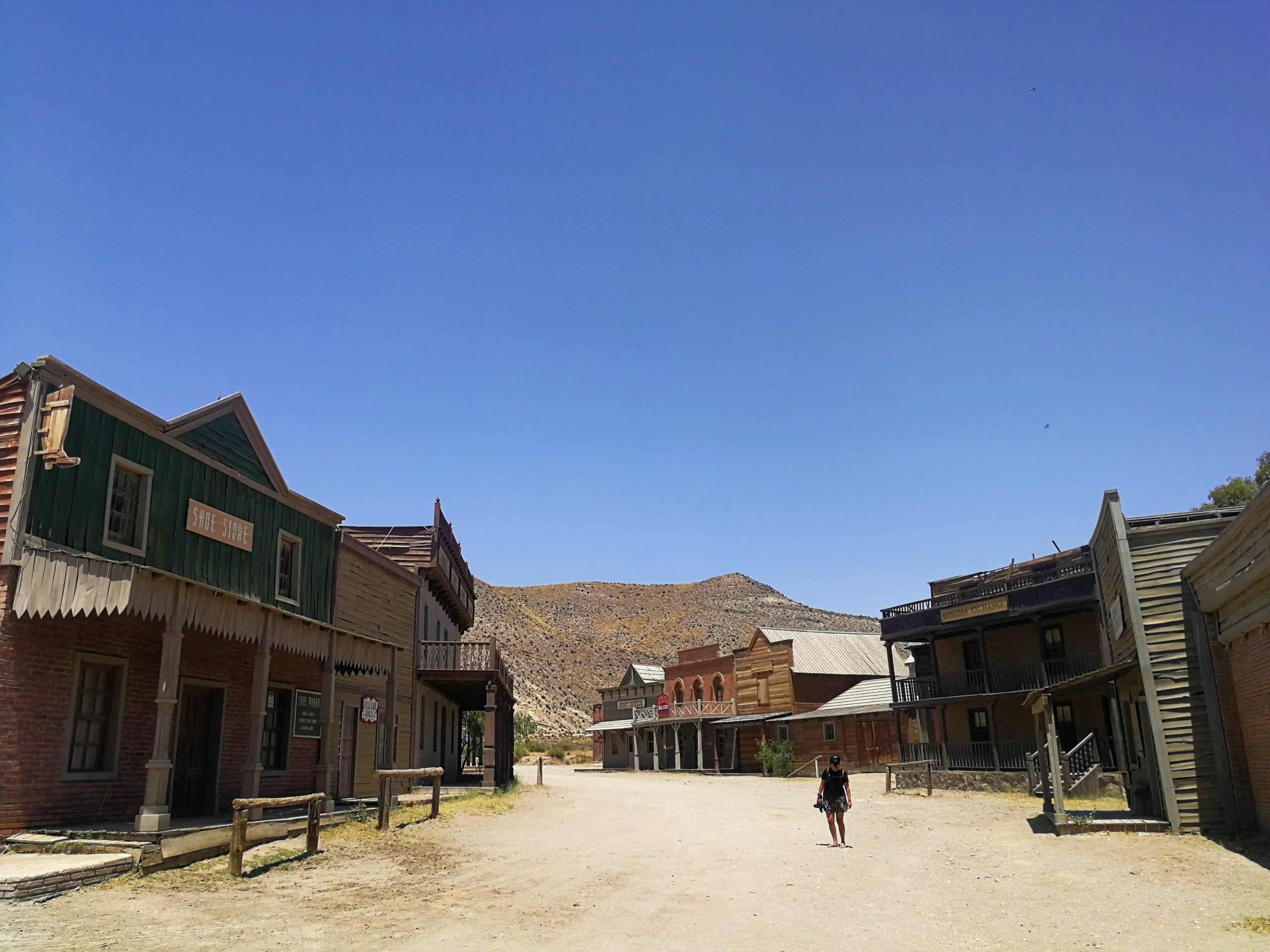 Fort Bravo, desierto de Tabernas