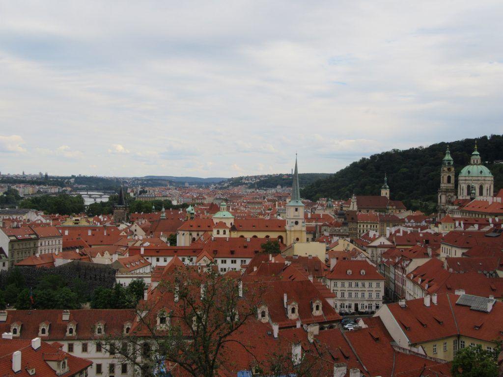 Desde el Castillo de Praga