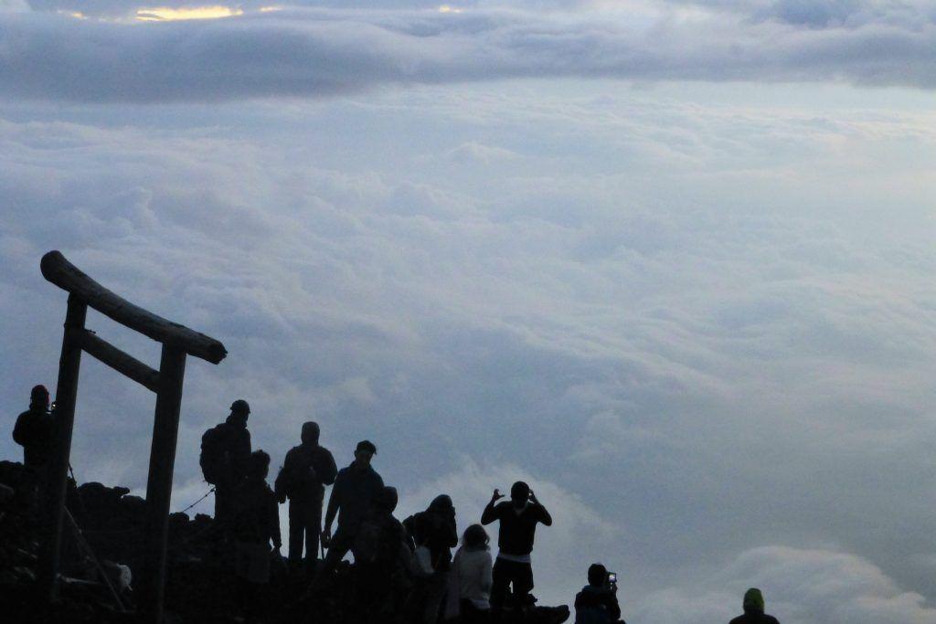 Amanecer en el Monte Fuji - Haz La Mochila